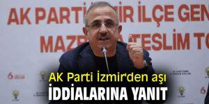 AK Parti'den aşı açıklaması