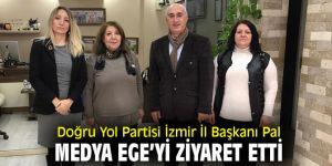 Doğru Yol Partisi İzmir İl Başkanı Pal, Medya Ege'yi ziyaret etti
