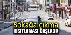 19 Ocak sokağa çıkma yasağı başladı