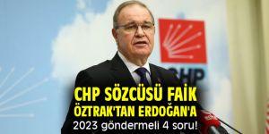 Öztrak'tan Erdoğan'a 2023 göndermeli 4 soru!