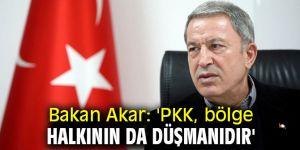 Bakan Akar'dan flaş PKK açıklaması!