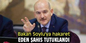 Bakan Soylu'ya hakaret eden şahıs...