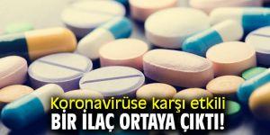 Koronavirüse karşı etkili bir ilaç ortaya çıktı!