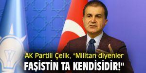 """AK Partili Çelik, """"Militan diyenler faşistin ta kendisidir!"""""""
