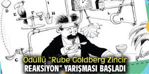 """Ödüllü """"Rube Goldberg Zincir Reaksiyon"""" yarışması başladı"""