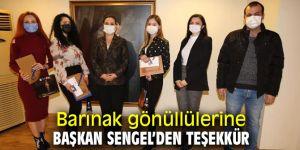 Başkan Sengel, Barınak gönüllülerine teşekkür etti!