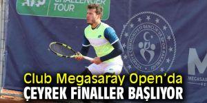 Club Megasaray Open'da Çeyrek Final