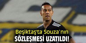 Beşiktaş'ta Souza'nın sözleşmesi uzatıldı!