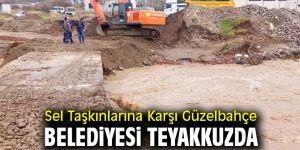 Güzelbahçe Belediyesi Teyakkuzda
