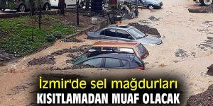İzmir'de sel mağdurları kısıtlamadan muaf olacak