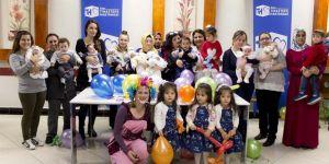 Tınaztepe'nin mucize bebekleriyle kutlama