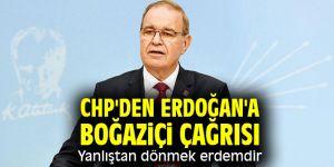 CHP'li Öztrak'tan Erdoğan'a Boğaziçi çağrısı!