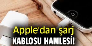 Apple'dan şarj kablosu hamlesi!