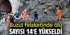 Buzul felaketinde ölü sayısı 14'e yükseldi
