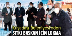 Kuşadası Belediyesi'nden Sıtkı Başkan için lokma