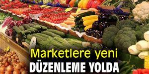 Marketlere yeni düzenleme yolda