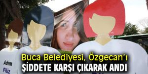 Buca Belediyesi, Özgecan'ı şiddete karşı çıkarak andı