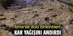 İzmir doluya teslim oldu!