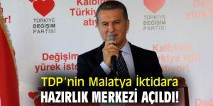 Türkiye Değişim Partisi'nin Malatya İktidara Hazırlık Merkezi açıldı!