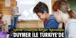 Duymer İşitme Cihazında Alman Teknolojisini Türkiye'ye getirdi