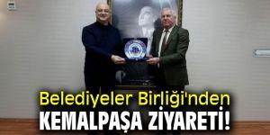 Belediyeler Birliği'nden Kemalpaşa'ya ziyaret!