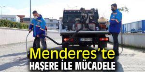 Menderes'te Haşere ile Mücadele Sürüyor