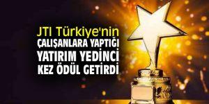 JTI Türkiye'nin çalışanlara yaptığı yatırım yedinci kez ödül getirdi