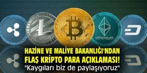 """Hazine ve Maliye Bakanlığı'ndan flaş kripto para açıklaması! """"Kaygıları biz de paylaşıyoruz"""""""