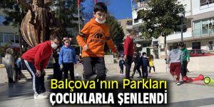 Balçova'nın Parkları Çocuklarla Şenlendi