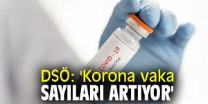 DSÖ: 'Korona vaka sayıları artıyor'