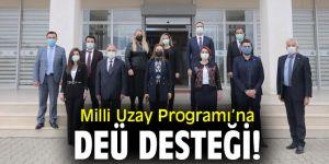 Milli Uzay Programı'na DEÜ desteği!