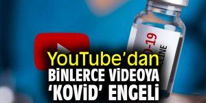YouTube'dan binlerce videoya 'kovid' engeli