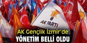 AK Parti İzmir İl Gençlik Kolları'nda yönetim belli oldu