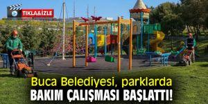 Buca Belediyesi, parklarda bakım çalışması başlattı!