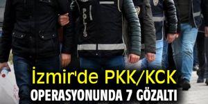 İzmir'de PKK/KCK operasyonunda 7 gözaltı