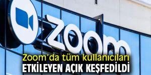Zoom'da tüm kullanıcıları etkileyen açık keşfedildi