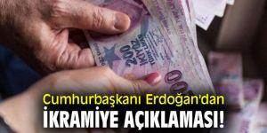 Cumhurbaşkanı Erdoğan'dan ikramiye açıklaması!