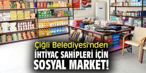 Çiğli Belediyesi'nden İhtiyaç Sahipleri için Sosyal Market!
