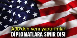 ABD'den yeni yaptırımlar: Diplomatlara sınır dışı