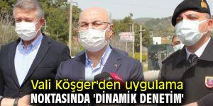 """Vali Köşger, """"İzmir'de vaka sayıları stabil"""""""