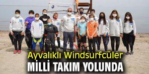 Ayvalıklı Windsurfcüler milli takım yolunda