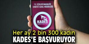 CHP'li Gürer, Her ay 2 bin 300 kadın KADES'e başvuruyor