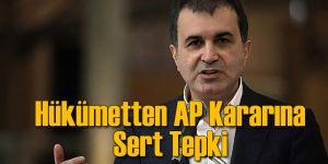 Hükümet AP Kararına Sert Tepki Gösterdi