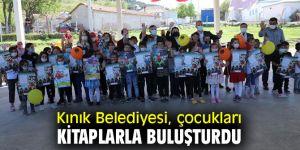Kınık Belediyesi, çocukları kitaplarla buluşturdu