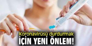 Uzmanı açıkladı! Koronavirüsü durdurmak için yeni önlem!