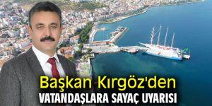 Başkan Kırgöz'den vatandaşlara sayaç uyarısı