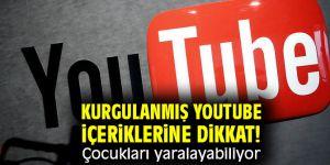 Kurgulanmış Youtube içeriklerine dikkat! Çocukları yaralayabiliyor
