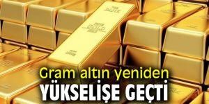 Gram altın yeniden yükselişe geçti
