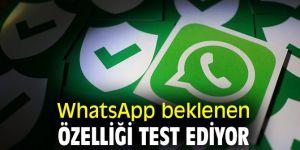 WhatsApp beklenen özelliği test ediyor