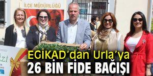 EGİKAD'dan Urla'ya büyük destek